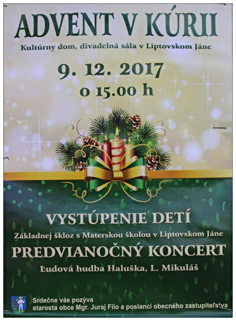 9.12.2017 - Advent v kúrii